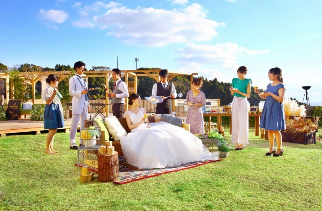 夏婚特典あり♪★オールシーズンOK!KIKKIオリジナルウェディングプラン★【60名148万】